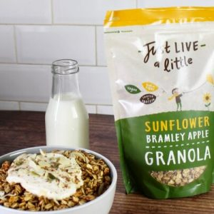 Sunflower Bramley Apple Granola
