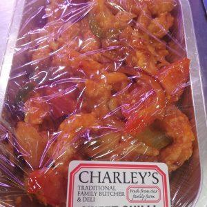 (M) Sweet Chili Crispy Chicken