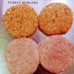 (M) Turkey burgers-Plain